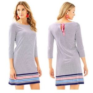 Lilly Pulitzer- Noelle dress bayside stripe 29624